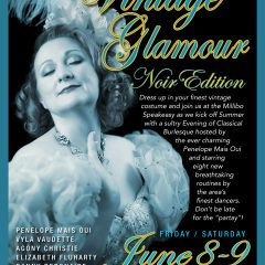 VINTAGE GLAMOUR – EDITION NOIR  June 8-9