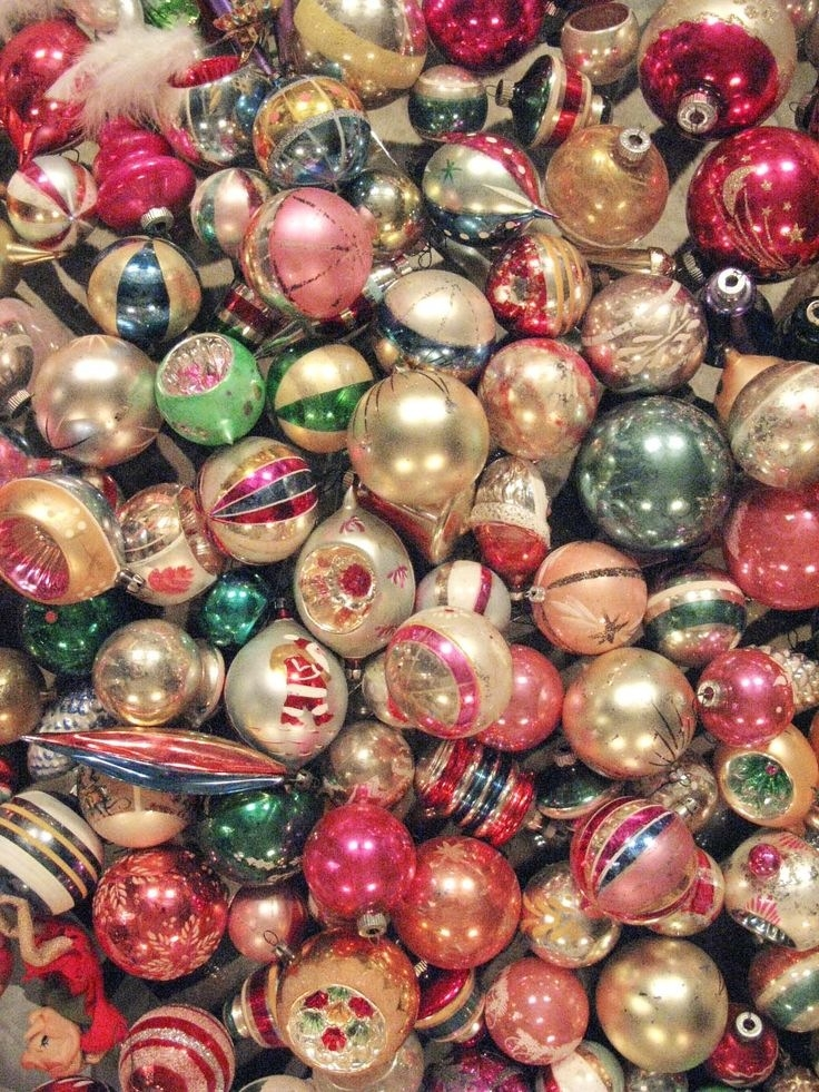 Vintage Christmas Decorations.Best 25 Vintage Christmas Ornaments Ideas On Pinterest With